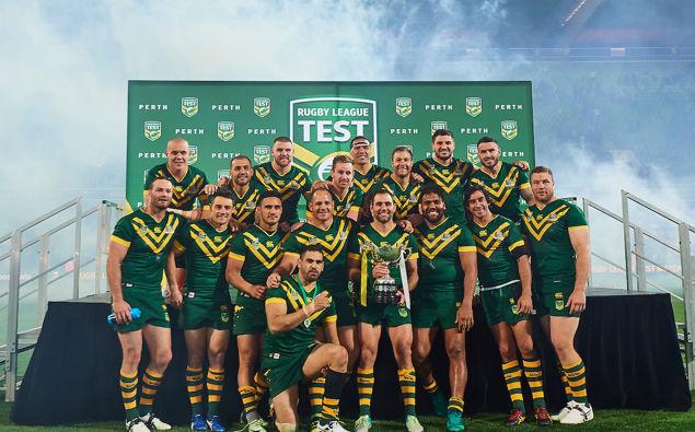 Rugby League World Champions Australia/Photosport