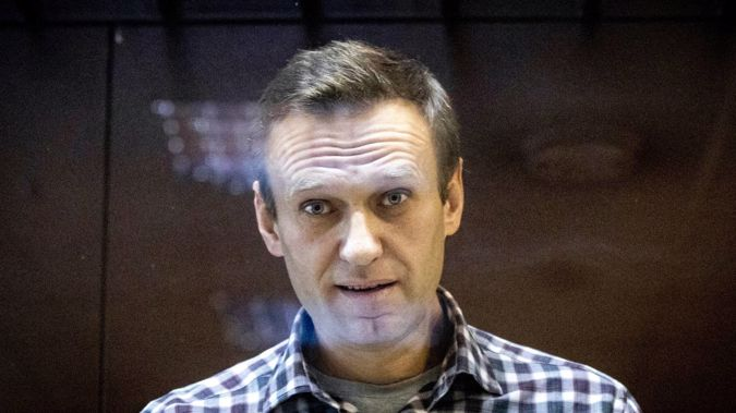 Russian opposition leader Alexei Navalny at the Babuskinsky District Court in Moscow, Russia. (Photo / AP)