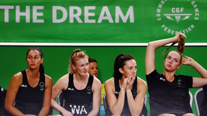 The Silver Ferns during their disastrous 2018 Games campaign in Australia - the news might get even worse. (Photo/Photosport)