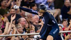 Cyclist Olivia Podmore. (Photo / Photosport)