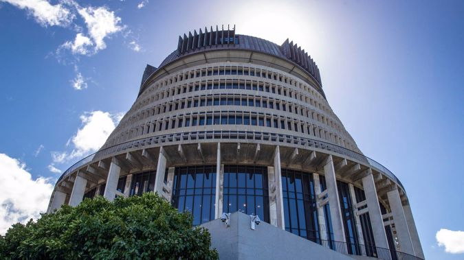 The Beehive, Wellington. Parliament Buildings. (Photo / Mark Mitchell)