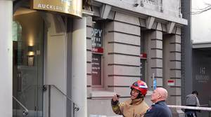PHOTOS: Fire Service at Auckland City Hotel incident