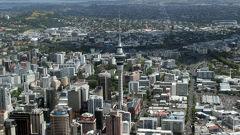 Auckland CBD (Photo / Edward Swift)