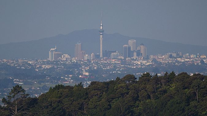 Smog over Auckland (Getty Images)