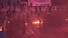 Clashes in Greece ahead of austerity vote