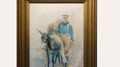 WW1 'Simpson and his Donkey' painting up for auction