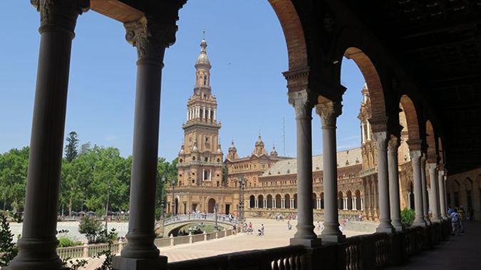 The Plaza de Espana in Seville (Supplied)