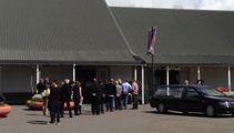 Funeral for tiger attack victim