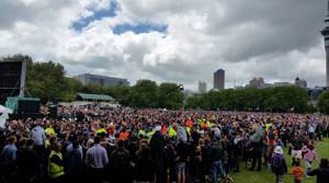PHOTOS: Thousands turn out to see All Blacks in Auckland