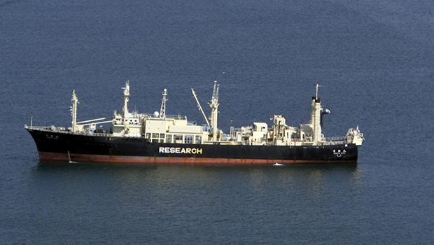 The Japanese whaling ship Nisshin Maru (Getty Images)