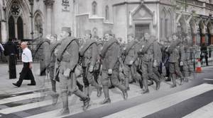 PHOTOS: Scenes of World War One - then and now