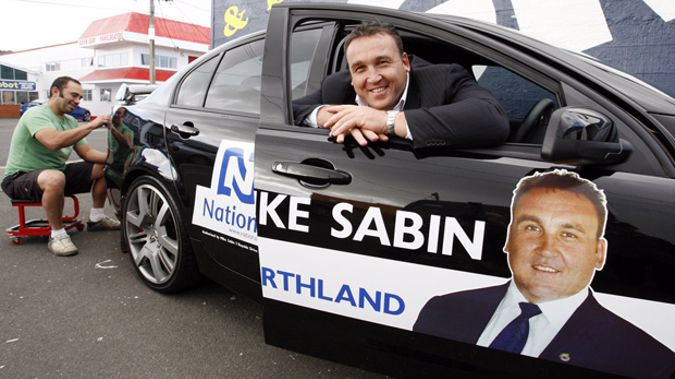 Former National MP for Northland Mike Sabin (NZ Herald)