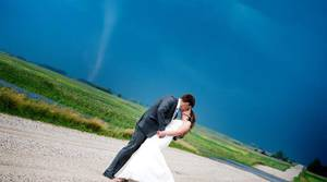PHOTOS: Tornado crashes wedding photo shoot
