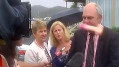 Steven Joyce and the mid-flight sex toy (Supplied)