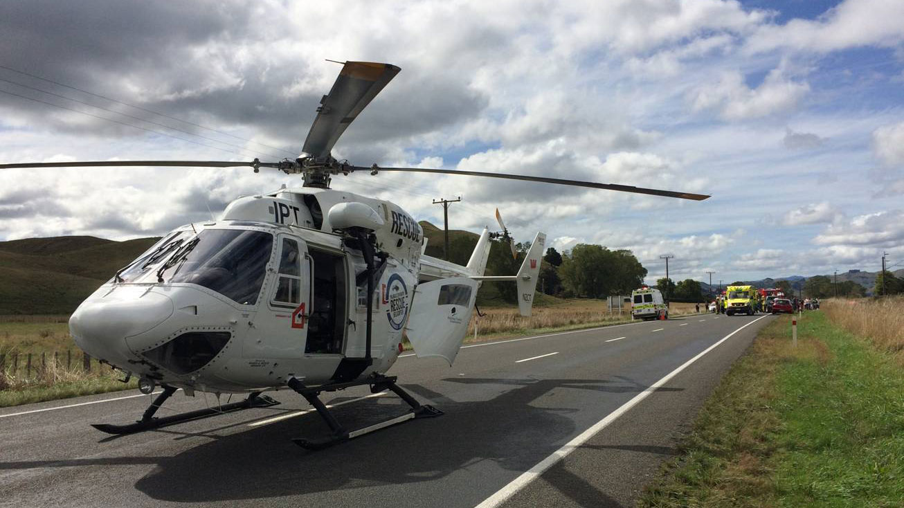 Palmerston North Rescue Helicopter (Supplied)