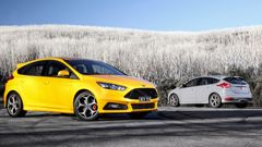 The Ford Focus ST Hatch (Supplied).