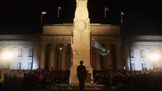 A service to mark ANZAC Day (Getty Images)