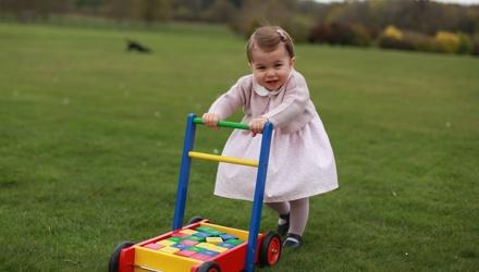 PICS: Princess Charlotte turns one