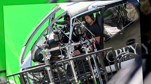 Jamie Dornan Crashes a Helicopter in New Shots from 50 Shades Freed