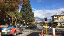 Traffic lights a first for Queenstown