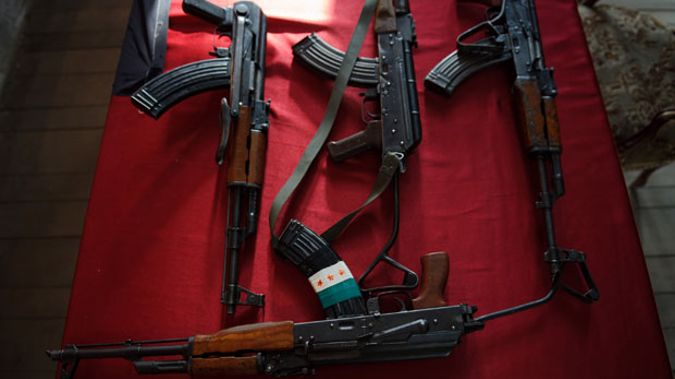 AK47 guns (Getty Images).