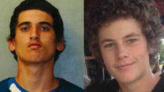 Beauen Wallace-Loretz (left) and Leonard Nattrass-Berquist jailed for murdering Ihaia Gillman-Harris in an Epsom motel room (NZH).