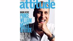 Prince William has become the first royal to be snapped for the cover of a gay magazine. Photo / Supplied.