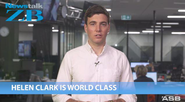 Jack Tame says Helen Clark is world class