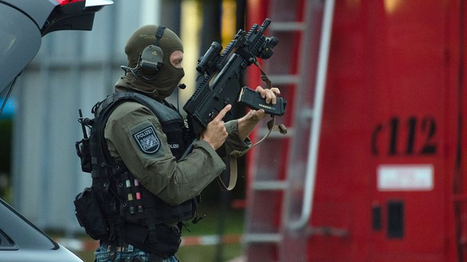 Police respond after a gunman opened fire (Getty Images)