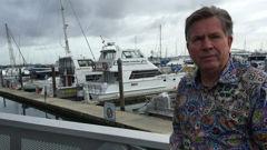 Bill Fish Cafe owner Rod Limbrick (NZ Herald)