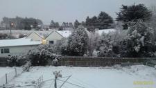 PHOTOS: Snowfall in Dunedin