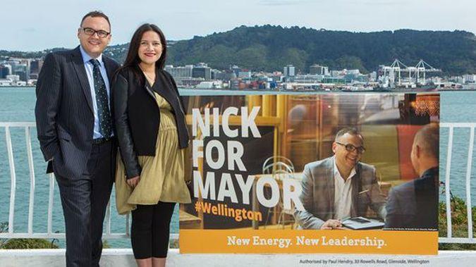 Nick Leggett is running for Mayor of Wellington (Photo / Supplied)