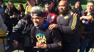 PHOTOS: Wellington celebrates at Hurricanes parade