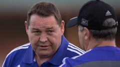 All Blacks coach Steve Hansen, who is a former police officer (NZ Herald)
