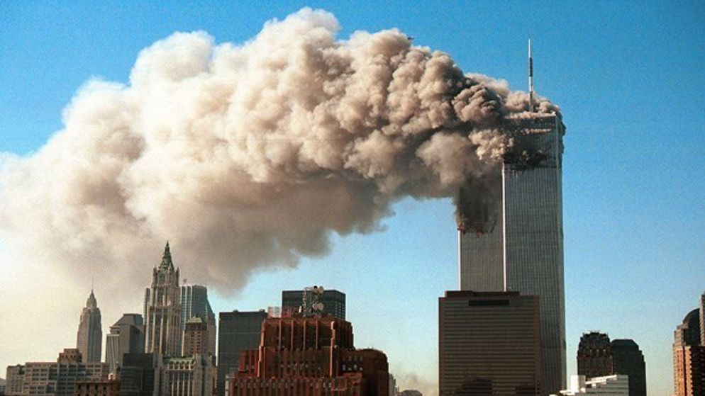 On 9/11 2001, four planes were hijacked, and aimed at targets on the East Coast of the USA. Two were crashed into the Twin Towers in New York, one hit the Pentagon, and one crash landed.
