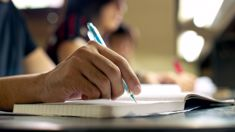 Difficult maths test leaves students in tears