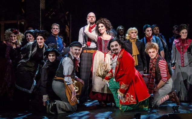 NZ Opera's production of Sweeney Todd. Photo / Supplied