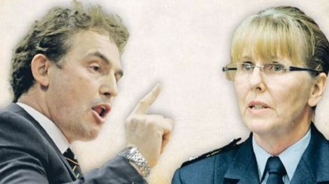 Police top brass say Napier MP Stuart Nash is going too far in his criticisms of Eastern District Commander Sandra Venables (NZME)