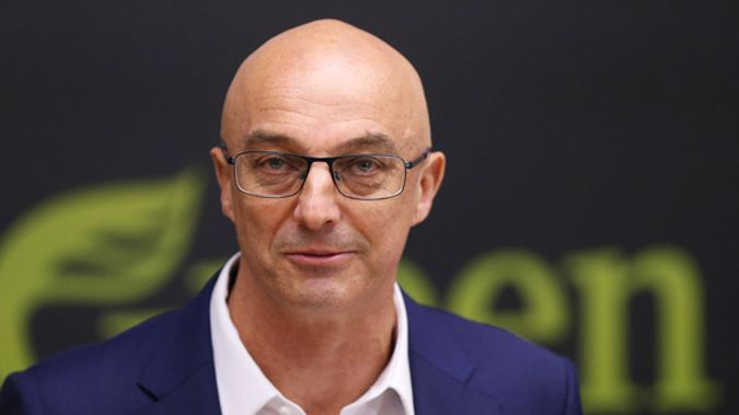 Outgoing Green MP Kevin Hague's delivered his last piece of work as an MP (Photo / NZ Herald)