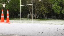 PHOTOS: Hail hits West Auckland