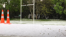 PHOTOS: Hail hits West Auckland