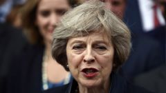 UK Prime Minister Theresa May (Getty Images).