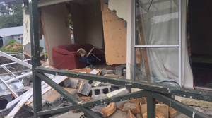 Photos: Severe earthquake damage in Waiau