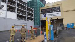 Wellington's Reading Cinema car park will start being demolished in two weeks (File).