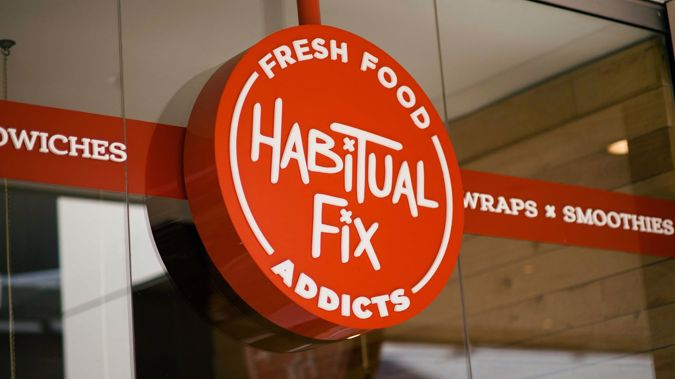 Wellington's Habitual Fix on Featherston Street has been placed into liquidation. (Facebook)