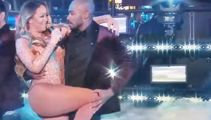VIDEO: Mariah Carey botches New Year show