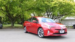 2016 Prius ZR in Pursuit Red (Supplied).