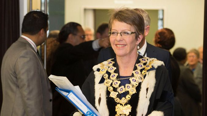 Former Wellington Mayor Celia Wade-Brown requested a tattoo as her leaving gift (Supplied).