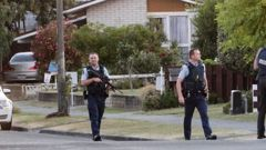 Police stormed a home in Tamatea last Friday but did not find wanted man Shawn Harding.