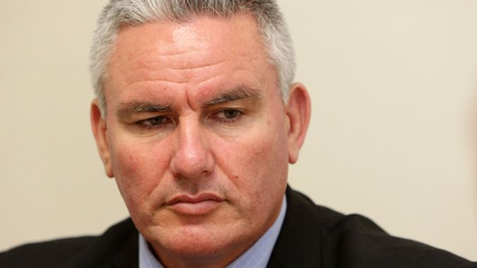 Labour's Kelvin Davis said Maori need to stand up and be leaders on the issues that matter. (Michael Cunningham)